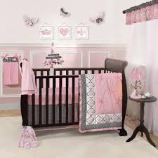 Brown And Pink Crib Bedding Baby Crib Bedding Pink Green And Brown Considering The