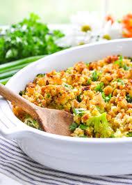 fannie s easy cheesy broccoli casserole the seasoned