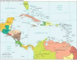 map central file political central america cia world factbook jpg