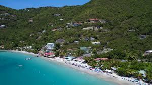 Cane Garden Bay Cottages Tortola - aerial view of cane garden bay tortola british virgin islands