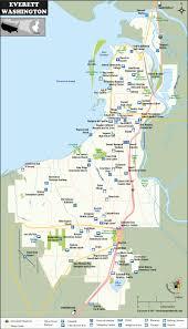 San Simeon Map Everett City Map Washington City Map Pinterest City Maps