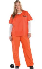 prison jumpsuit costume orange prisoner costume city