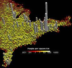 united states population map noaa explorer east 2001 map of population density of