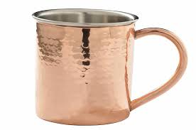fancy mugs amazon com copper plated stainless steel mug for moscow mules