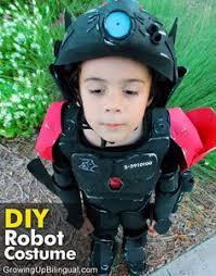 Robot Costume Halloween Chasing Fireflies Robot Costume Robo Kid Costume Adorable
