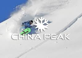 China Peak Map by Front Page Powder Alliance