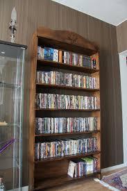 Wall Dvd Shelf Stunning Dvd Storage Design Ideas Featuring Open Shelves Under