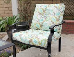 charming reupholster outdoor furniture no sew project how to