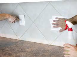 Make A RenterFriendly Removable DIY Kitchen Backsplash HGTV - Acrylic backsplash