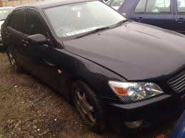 lexus is200 hatchback currently breaking scrap cars used car parts bh salvage uk