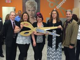 wilmington u0027s hair cuttery celebrated grand opening with ribbon