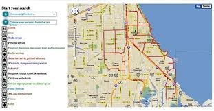 chicago map side project maps south side health and vitality lisc chicago
