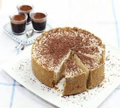 frozen cheesecake with baileys u0026 chocolate recipe bbc good food