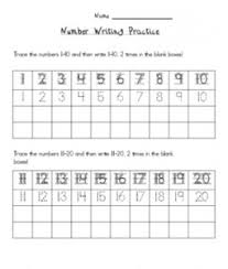 17 best math writing numbers images on pinterest number writing