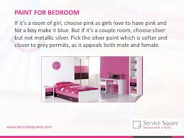 tips to choose the right color for different rooms ppt download