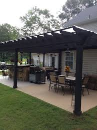 Patio Master Grill by I Like This Open Layout Like The Pergola Over The Table Grill