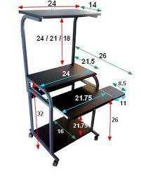 Small Computer Printer Table 12 Best Computer Table Images On Pinterest Treadmill Desk
