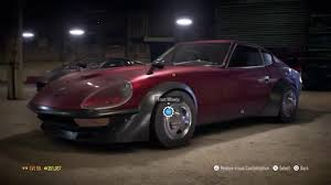 nissan 240z need for speed 2015 nissan 240z fairlady fully upgraded
