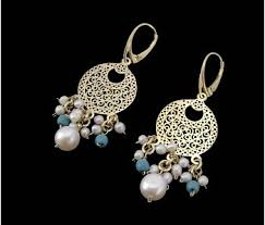 arabian earrings contemporary arabian jewellery dajani