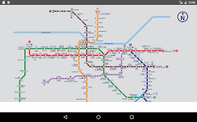 Metro Violet Line Map by Santiago Metro Map 2017 Android Apps On Google Play