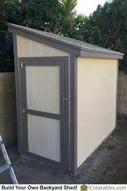 How To Build A Shed Against House by Lean To Shed Plans With Roof Sheeting Installed The Fascia Trim