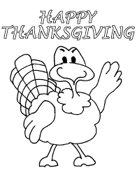 happy thanksgiving turkey coloring book