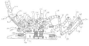 Black Rocking Recliner Patent Us6945599 Rocker Recliner Mechanism Google Patents