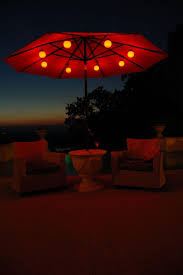 Rectangular Patio Umbrella With Solar Lights by Best Solar Patio Umbrella 64 For Home Decorating Ideas With Solar
