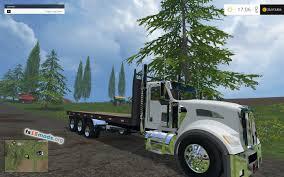 2015 kenworth truck kenworth flatbed truck fs15 mods