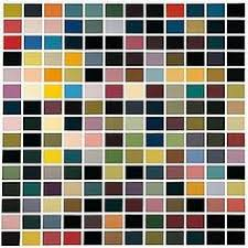 180 colors gerhard richter style conceptual art genre abstract