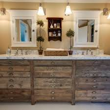 marvelous rustic bathroom vanities with drawers marble countertop