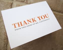 40 personalized thank you card gifts for teacher boss