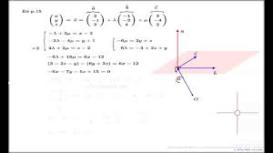 equation of plane point normal form