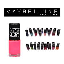 bulk lot of 60 maybelline color show nail polish ebay