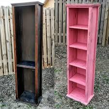6 foot tall cabinet before and after this 6 foot tall narrow cabinet was missing 2