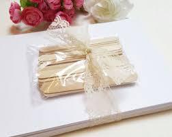 diy wedding program fans kits cardstock paper fans etsy