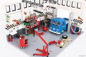 custom lego mini cooper lego ideas volkswagen t2 bay