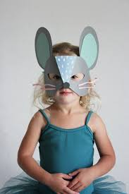 diy paper cat and mouse masks mermag mouse mask diy paper and