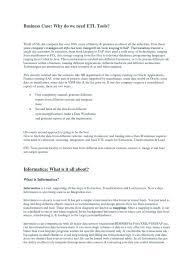 Etl Manager Etl Resume Informatica Resume For Your Job Application