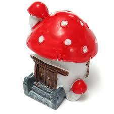 miniature escalator moss mushroom house dollhouse garden fairy
