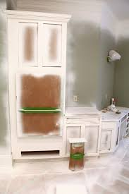 Professional Spray Painting Kitchen Cabinets by My Kitchen Magician Bower Power