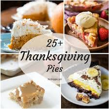 25 thanksgiving pies