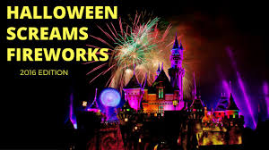 halloween screams fireworks 2016 fireworks disneyland park