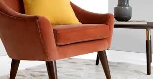 Burgundy Accent Chair Chairs Paisley Accent Chair Burnt Orange Barrel Armchair