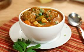 Italian Soup by 30 Minute Light Italian Meatball Soup