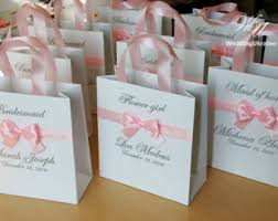 bridal party gift bags personalized gift bags bridesmaid s gift bag bridal
