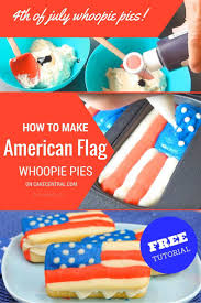 Flag Cakes The 25 Best American Flag Cookies Ideas On Pinterest American