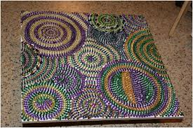 mardi gras bead chandelier top 10 decorative diy crafts with leftover mardi gras top