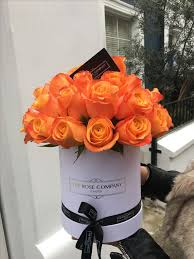 Roses In A Box Roses In A Box The Rose Company London The Rose Company