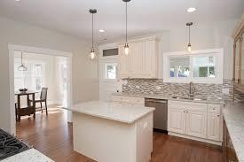 Austin Kitchen Cabinets Granite Countertop Antique White Cabinets Granite Backsplash